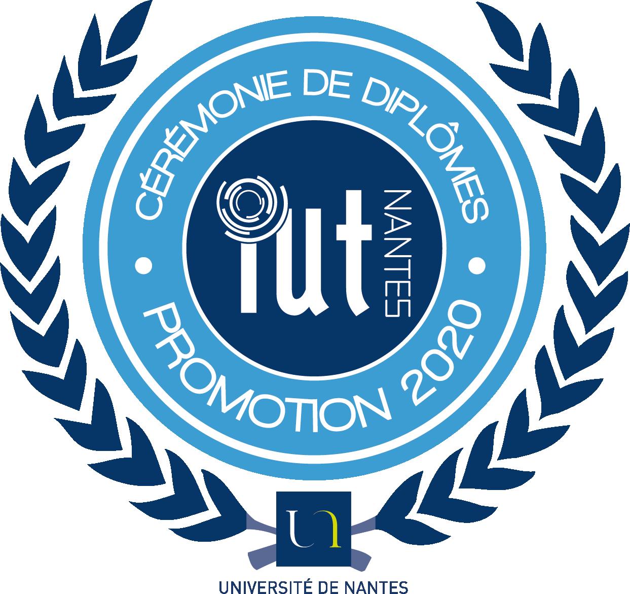 Logo Remise de diplomes promotion 2020